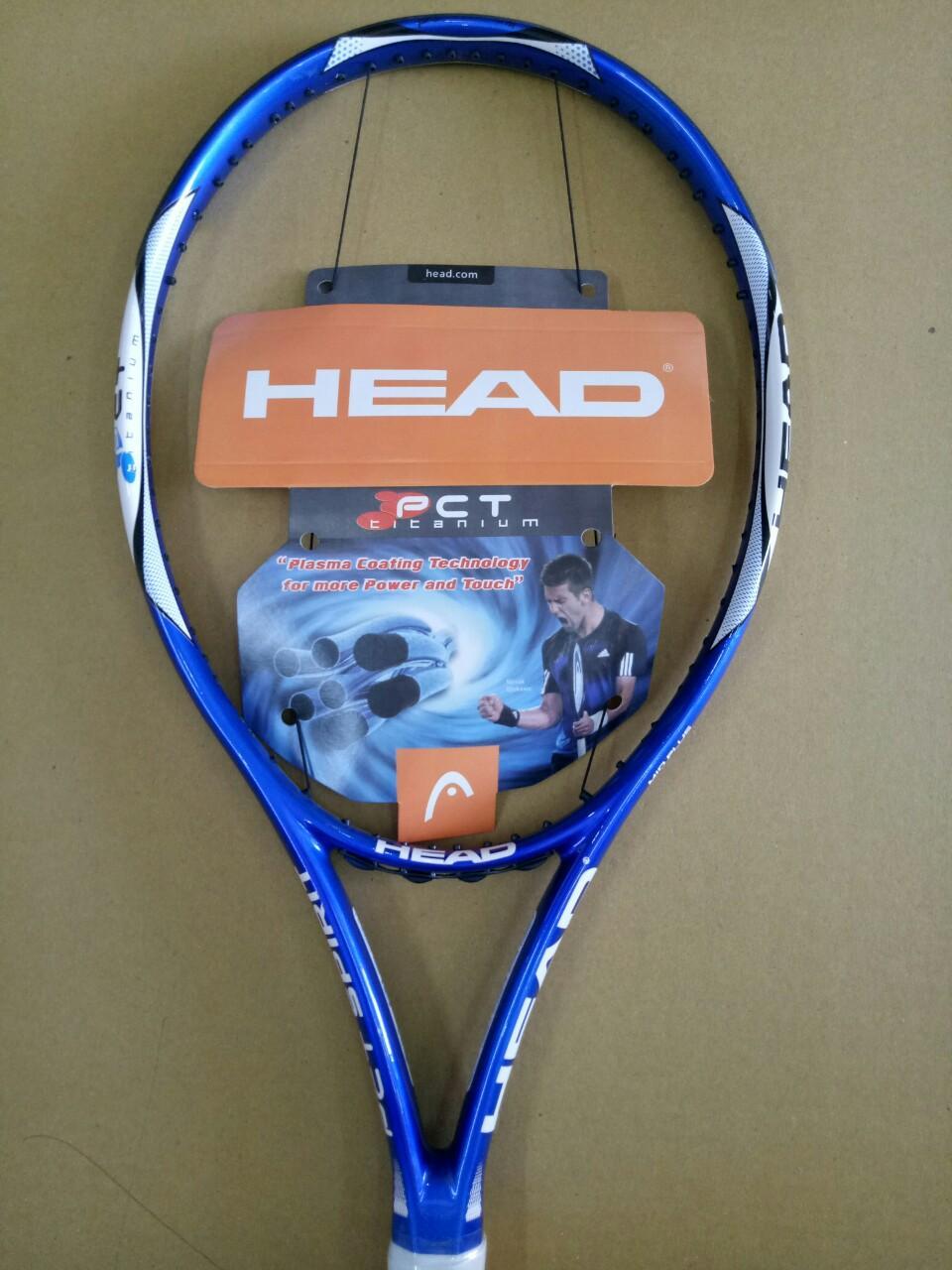 Bảng giá Vợt tennis HEAD 255g - tặng căng cước quấn cán và bao vợt - ảnh thật sản phẩm