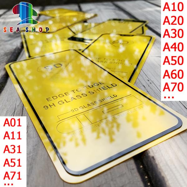 Kính cường lực Samsung Galaxy A full màn hình 9D cho tất cả các dòng máy / Kính cường lực Samsung: A10, A10S, A20, A20S, A30, A30S, A40, A40S, A50, A50S, A60, A70, A70S, A80, A80S, A90, A72, A51, A71...  tràn màn hình - Seashop