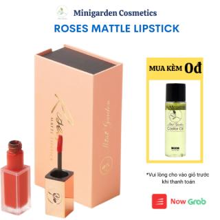 Son Roses Kem Lì Son Môi Mini Garden Roses Matte Lipstick Siêu Lì Mịn 24h thumbnail