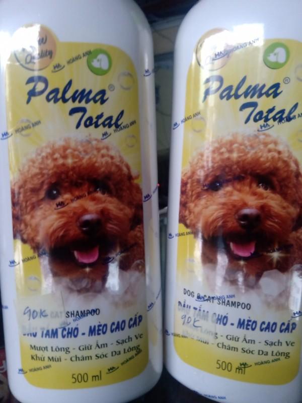 Dầu tắm chó mèo fay cao cấp palma total 500ml