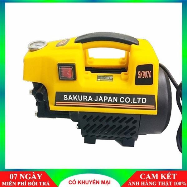 Máy rửa xe sakura áp lực cao - Hàng công ty - Tặng bình xịt tuyết