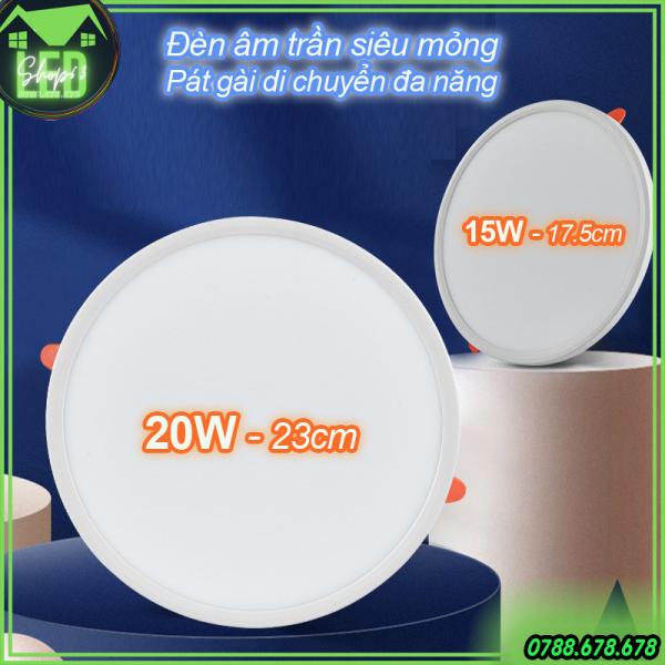 [HCM]Đèn âm trần đa năng - siêu mỏng ánh sáng trắng (hàng cao cấp viền mỏng nhất thị trường - tăng vẻ sang trọng cho ngôi nhà bạn - bảo hành 2 năm]
