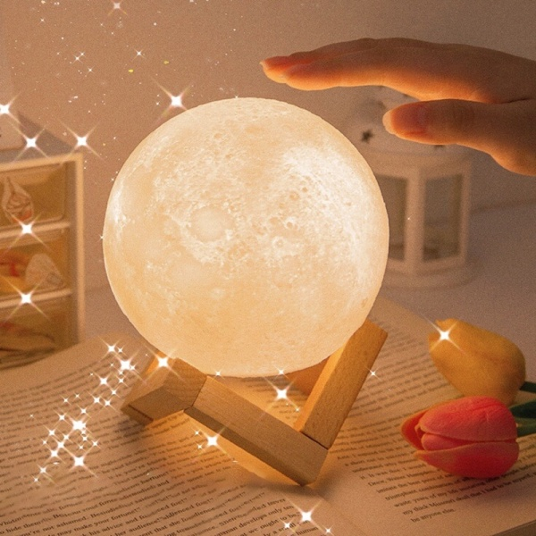 Bảng giá Đèn Ngủ LED Hình Mặt Trăng 3D