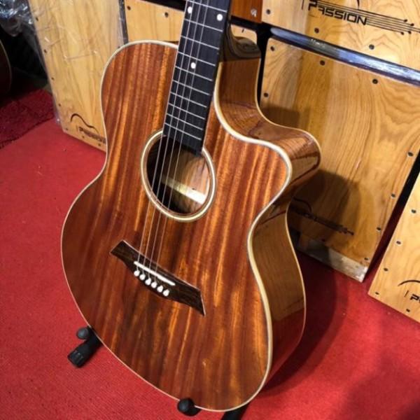 Đàn Guitar Acoustic Gỗ Hồng Đào 100% Gỗ Thịt Chất Lượng Cao Âm Thanh Tuyệt Vời Đàn Guitar Giá Rẻ