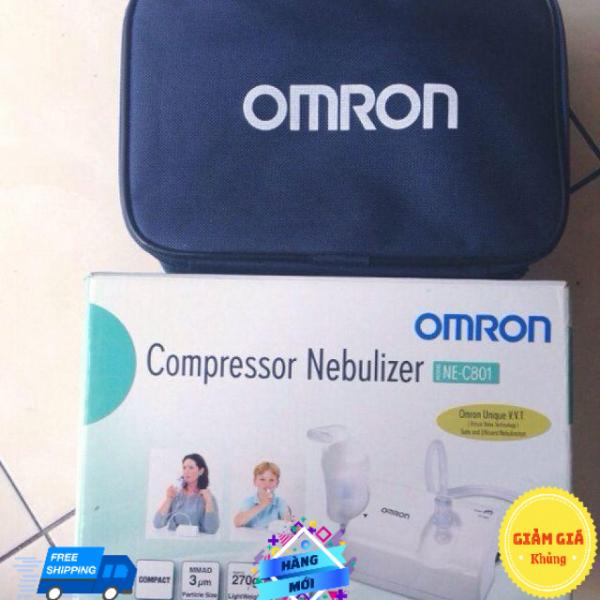MÁY XÔNG MŨI HỌNG Omron NE-C801 nhập khẩu