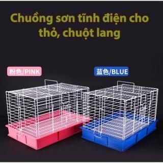 Lồng sơn tĩnh nuôi thỏ chuột lang cao cấp hàng loại 1 thumbnail