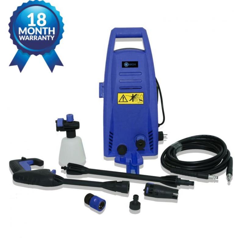 Máy xịt rửa xe cao áp Kachi MK192 MK168 1200W, áp lực mạnh mẽ, vệ sinh sàn nhà, rửa xe
