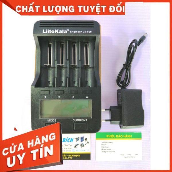 Sạc Pin Liitokala Lii-500 18650/26650 Sạc Thông Minh Đo Nội Trở Và Dung Lượng Pin