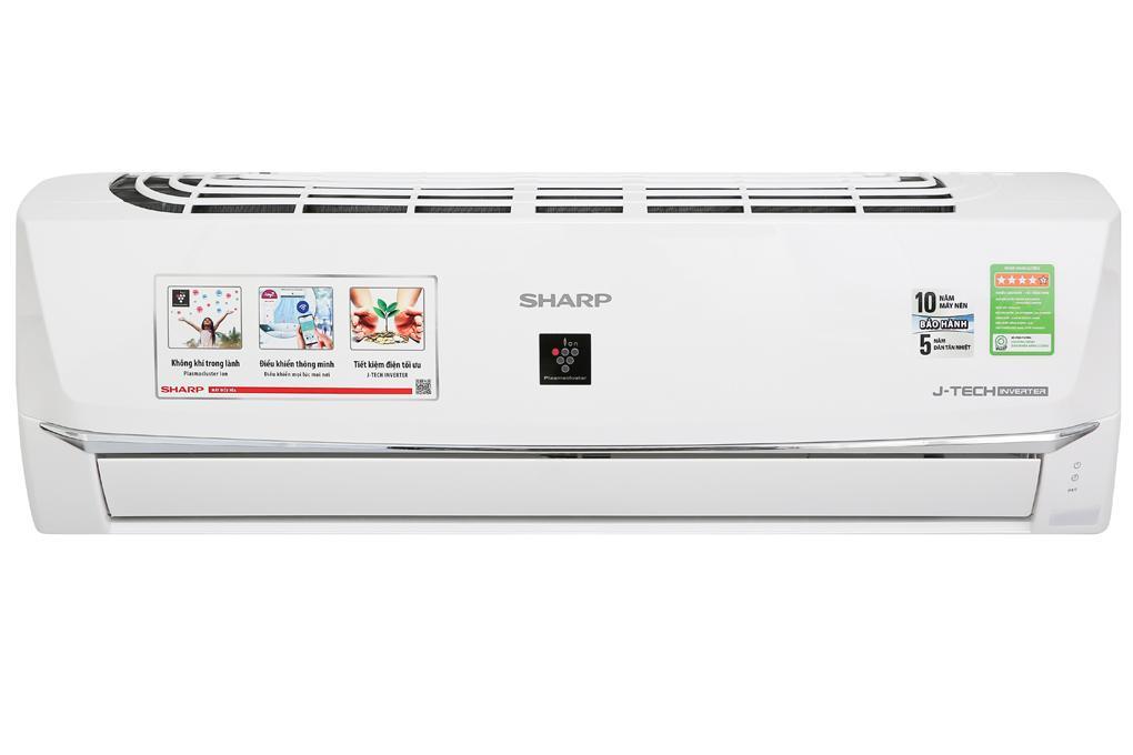 Điều hòa Sharp Inverter 9000 BTU AH-XP10WHW