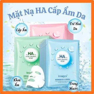 Mặt nạ giấy dưỡng da mụn cấp ẩm thải độc HA Images thumbnail