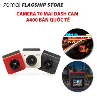 [Bản quốc tế] Camera hành trình ô tô 70mai Dash Cam A400 + Rear Cam - Bảo hành 12 tháng thumbnail