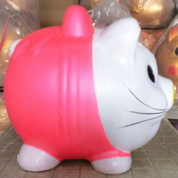 Mua Heo đất mèo KITTY Lớn ( dài 40cm x rộng 30cm x cao 35cm).