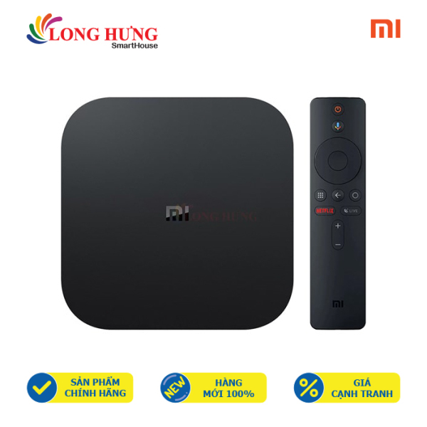 Bảng giá Android Tivi Box Xiaomi Mibox S 4K Ultra HD MDZ-22-AB