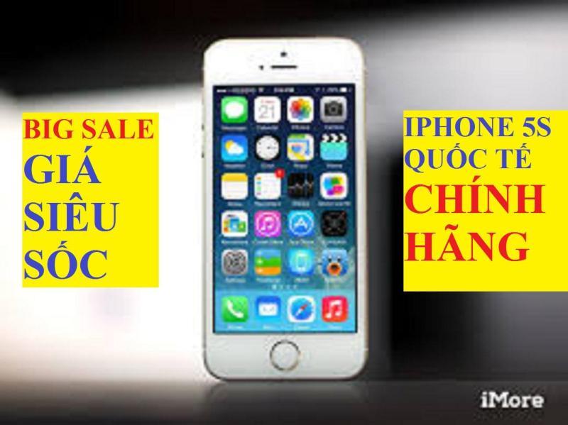 Điện thoại IPHONE 5S - 16GB giá rẻ - Bao đổi trả - Bảo hành 6T - Màu Đen/trắng/Vàng - Tặng dây sạc