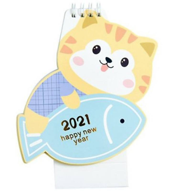 Lịch Để Bàn 2021 Cute Animal