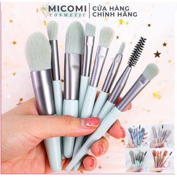 Bộ Cọ Trang Điểm Makeup 8 Món Cao Cấp Siêu Hot Đánh Phấn Mắt / Che Khuyết Điểm / Má Hồng / Tán Kem Nền - MICOMI Cosmetics
