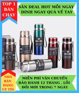 Bình Giữ Nhiệt Bottle Sport 1000ML Inox 304, Giữ Nhiệt Trên 8 Tiếng, Siêu Tiện Cho Mùa Hè Nóng Nực thumbnail
