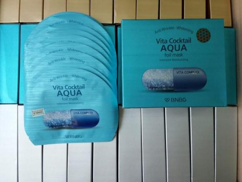 [CHÍNH HÃNG] Combo 10 gói Mặt nạ kim loại Banobagi Vita Cocktail Foil Mask 30ml x10pcs