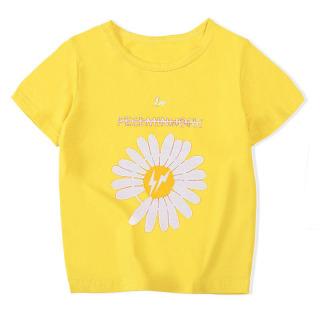 A O thun cho bé ( trai và gái).áo hoa cúc siêu hót cho bé từ 6kg-30kg.-AOLE06. thumbnail