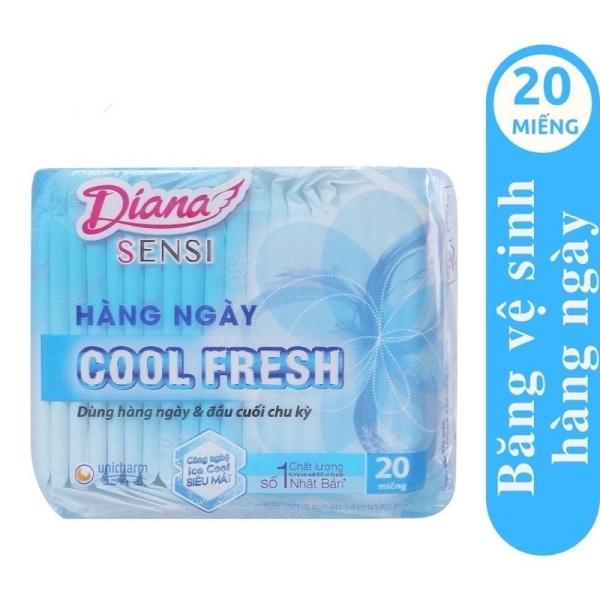 Diana Sensi Cool Fresh 20 miếng hằng ngày giá rẻ
