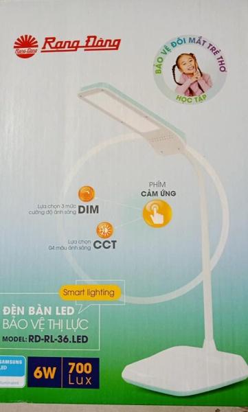 Đèn bàn LED Cảm ứng DIM CCT RD-RL-36  Rạng Đông
