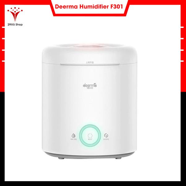 Máy tạo độ ẩm Deerma Humidifier F301 ( có thể sử dụng tinh dầu ) - Thiết kế gọn nhẹ sang trọng - Bảo hành 6 tháng