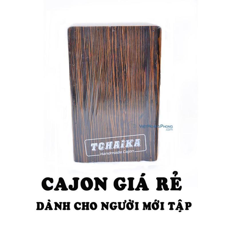 Trống Cajon Thái Lan TCHAIKA giá rẻ dành cho người mới tập chơi - Việt Hoàng Phong