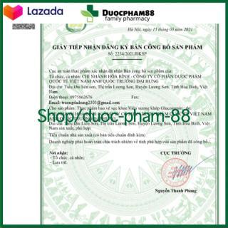 ( CHÍNH HÃNG) - Viên uống bổ xương khớp Glucosamin 1400mg giảm đau nhức mỏi xương khớp, giảm thoái hóa khớp - Hộp 60 viên HSD 2023 - HSD 2023 chuẩn GMP 6