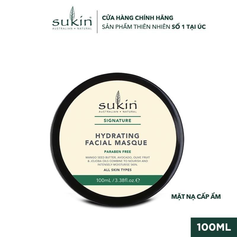 Mặt Nạ Dưỡng Ẩm Cho Da Sukin Signature Hydrating Facial Masque 100ml giá rẻ