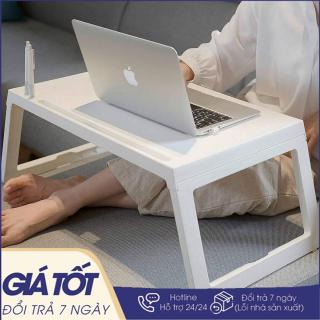 Bàn học gấp gọn để laptop có khe để Ipad gấp tiện dụng gọn gàng chắc chắn, dễ di chuyển - Bàn học sinh - Bàn nhựa gấp đa năng thumbnail