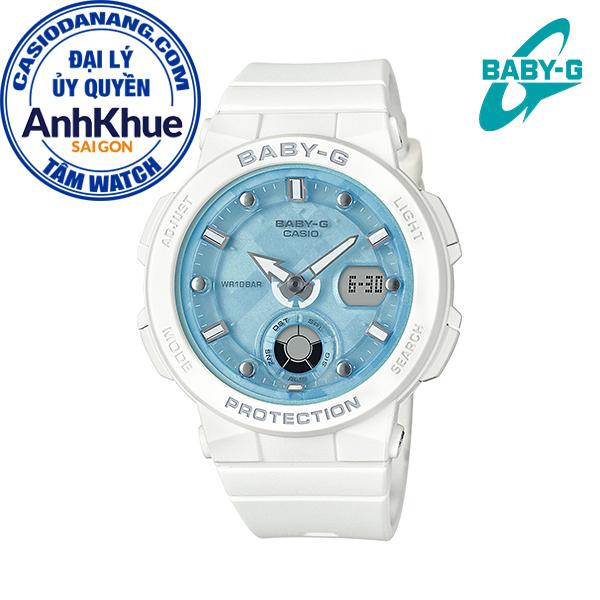 Đồng hồ nữ dây nhựa Casio Baby-G chính hãng Anh Khuê BGA-250-7A1DR (41mm)