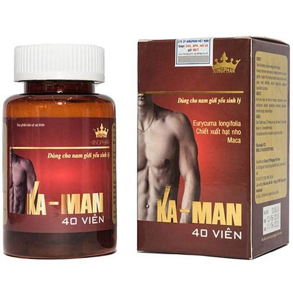 Thực Phẩm Chức Năng Tăng Cường Sinh Lý Nam Ka-Man Kingphar 40 Viên cao cấp