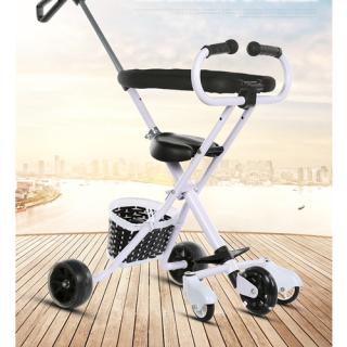 Xe Đẩy Em Bé 5 Bánh Gấp Gọn Có Đai Bảo Vệ - Xe Đẩy Cho Bé Dạo Phố - xe đẩy an toàn cho bé xe đẩy hợp kim cao cấp xe đẩy có đai mút xốp bảo hộ - đồ chơi - đồ chơi vận động & ngoài trời - đồ cho bé ra ngoài thumbnail