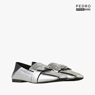PEDRO - Giày đế bệt nữ Square Toe Buckled Loafers PW1-66220011-07 thumbnail