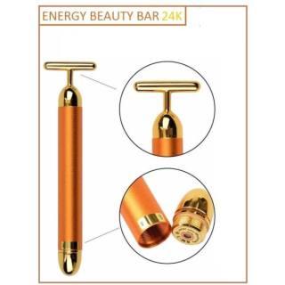 Máy masage nhanh Energy beauty bar gold 24k, chăm sóc da, thon gọn mặt... thumbnail