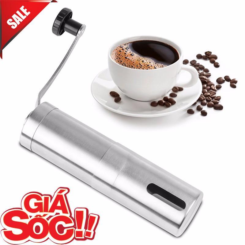 Máy xay coffee cầm tay - Thiết bị xay cafe cầm tay bằng iNox