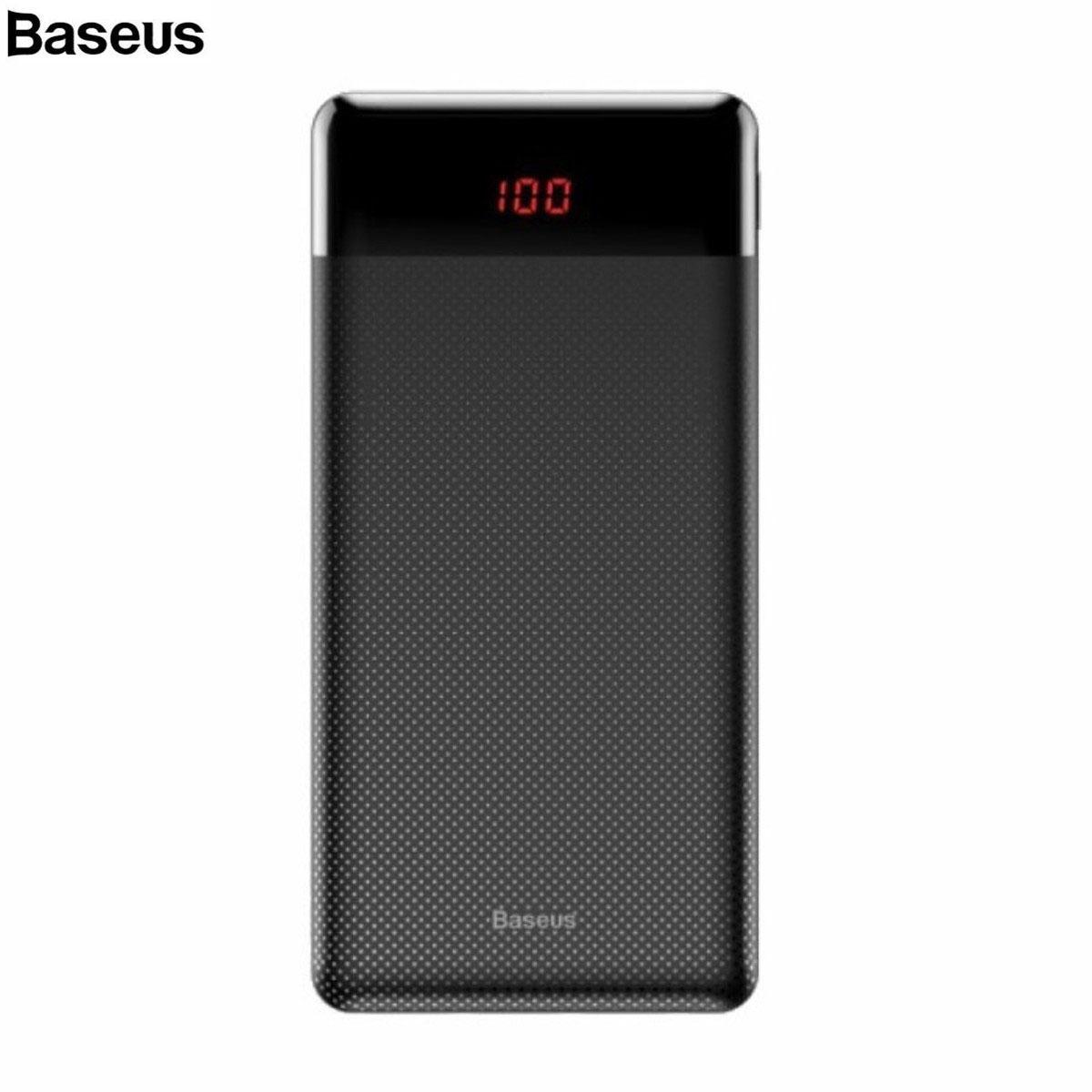Pin sạc dự phòng Baseus Mini Cu Digital Display 10,000mAh, 2 Port USB, LCD Display