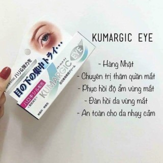 Kem hỗ trợ giảm thâm mắt Kumargic Eye 20g NHẬT BẢN thumbnail