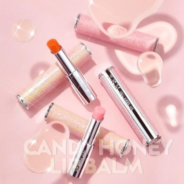 Son dưỡng YNM Candy Honey Lip Balm màu hồng giá rẻ