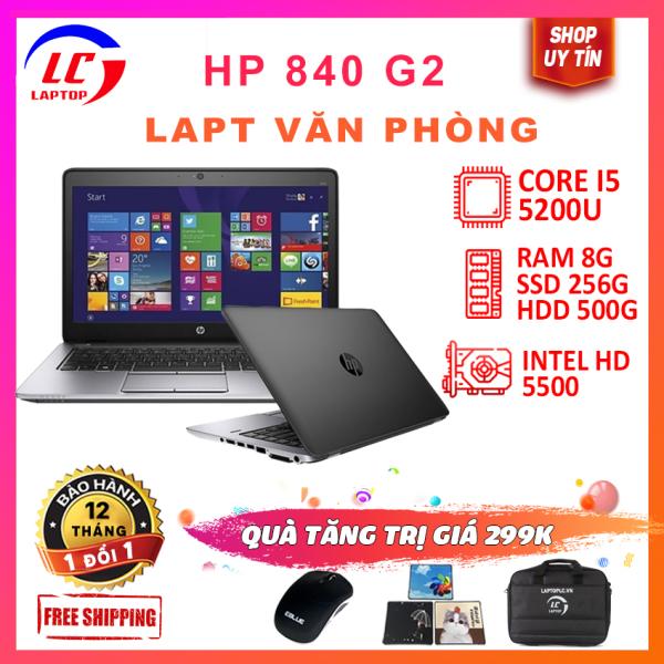 Bảng giá Laptop hp eliteBook 840 G2 core i5, laptop chơi game đồ họa cơ bản giá rẻ, màn 14inch laptoplc Phong Vũ