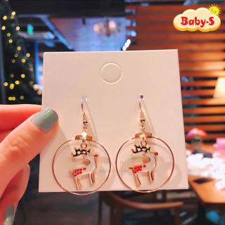 Khuyên tai Giáng sinh phong cách Hàn Quốc họa tiết Noel lung linh siêu xinh cho mọi lứa tuổi Baby-S SNOEL003 thumbnail