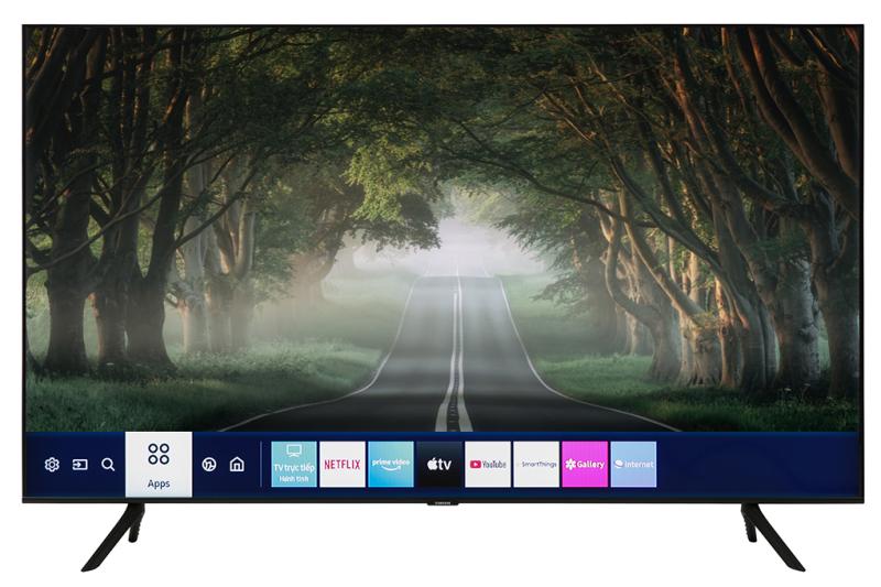 Smart Tivi Samsung 4K 50 inch UA50TU8100 chính hãng
