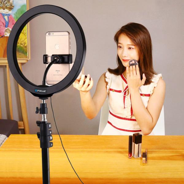 [SẢ KHO  LỚN SALE 50%] Mua Đèn Led LiveStream, Đèn Led LiveStream Loại Lớn, Chụp Hình Sản Phẩm, Đèn Led Hỗ Trợ LiveStream - Trang Điểm - Size 26cm, Đèn LED Thần Thánh make up - Live Stream, Đèn Sieu Sáng, Sieu Bền BH 1 đổi 1...