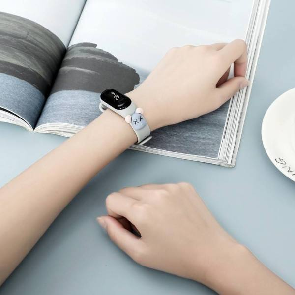 [Xả kho] DrToy - Đồng hồ điện tử bấm giờ đa năng, dáng thể thao chống nước, đồng hồ hoạt hình 3D cho trẻ, đồng hồ nữ xinh xắn, dây đeo đồng hồ đẹp cho MiBand