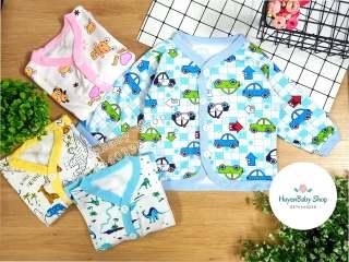 Áo khoác cho bé trai, bé gái mẫu họa tiết đủ size từ sơ sinh đến 11kg thumbnail