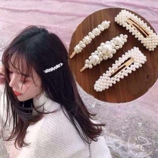 Set 4 kẹp tóc Hàn quốc xinh xắn thumbnail