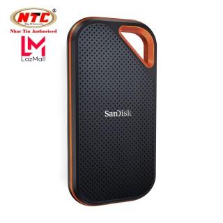 Ổ cứng di động External SSD Sandisk Extreme Pro E80 USB 3.1 Gen2 500GB 1TB 2TB Read 1050MB s (Đen) - Nhat Tin Authorised Store thumbnail