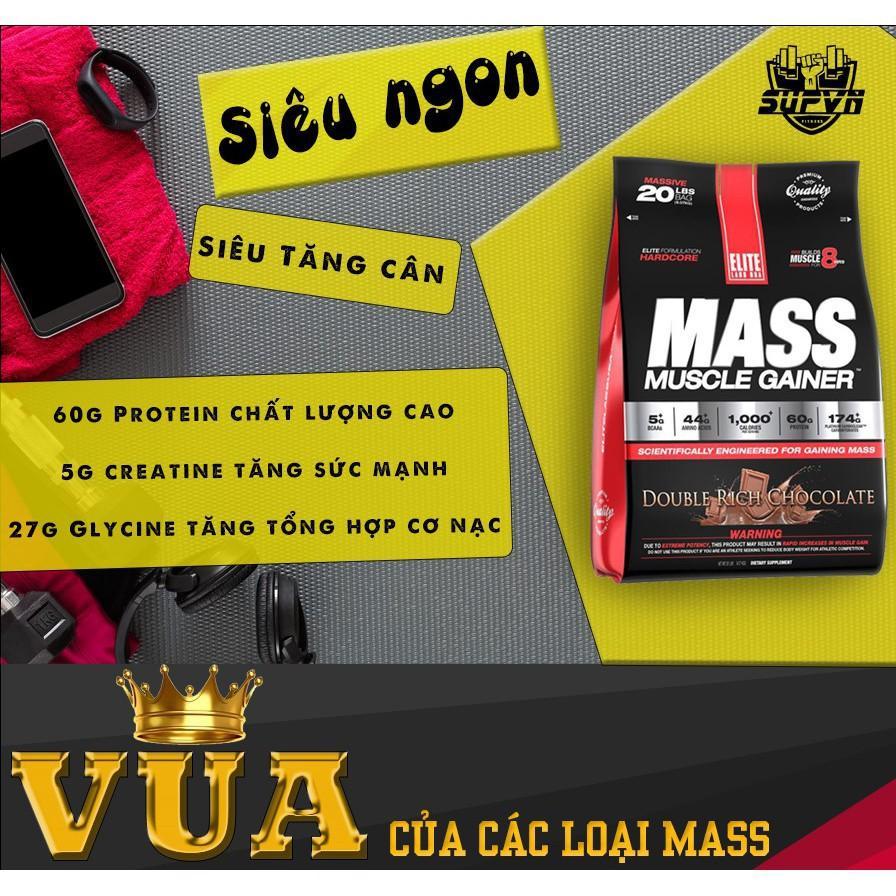 Mass Muscle Gainer Elite Labs - Sữa tăng cân tăng cơ vị 4.62kg cao cấp