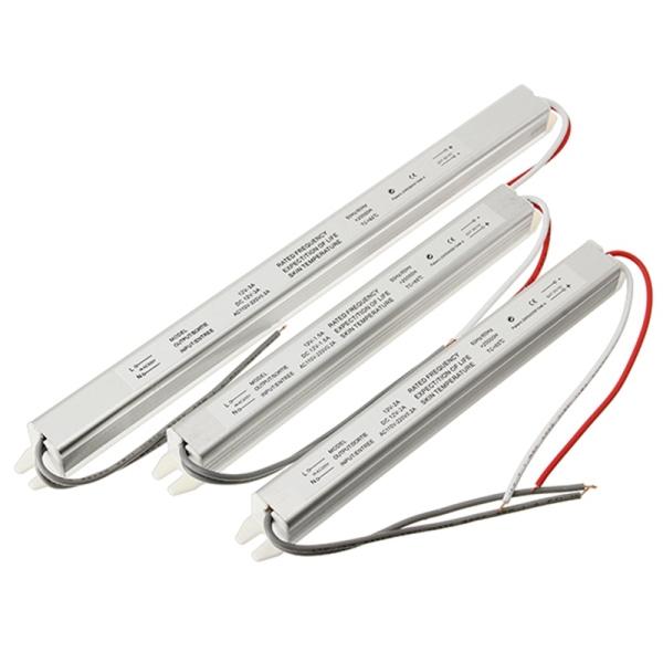 Nguồn đũa 12V 1.5A, 12V 2A, 12V 3A, 12V 4A, 12V 5A, 12V 6A, 12V 8.33A, Nguồn led 12v đủ công suất, nguồn cho đèn led loại tốt giá rẻ