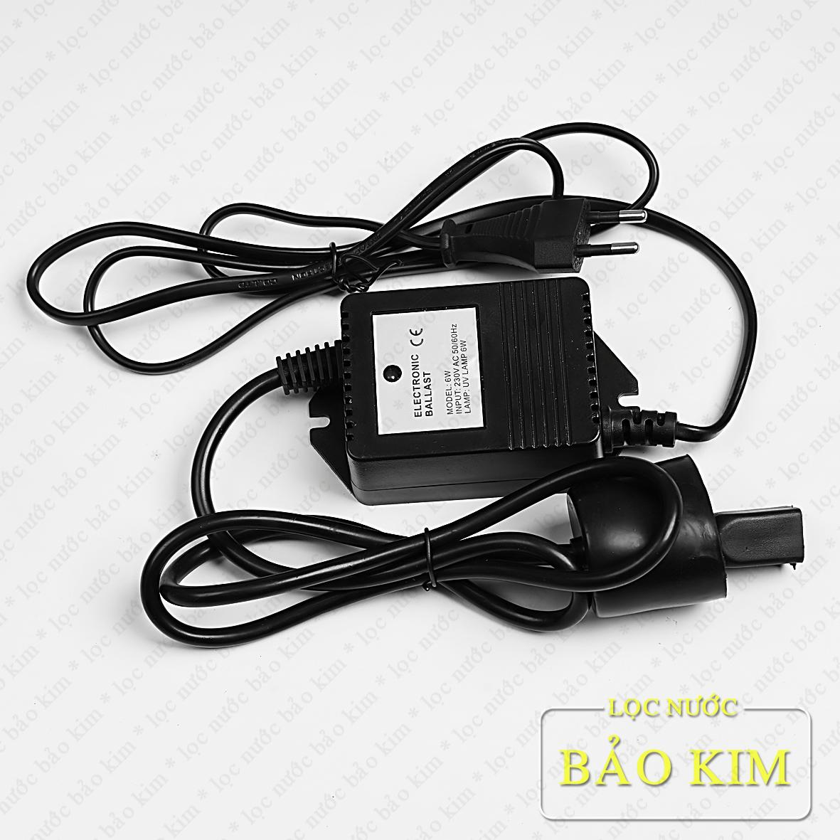 Bảng giá Adaptor - Ballast biến áp chuyển nguồn đèn cực tím UV 6W - 4 chấu Điện máy Pico